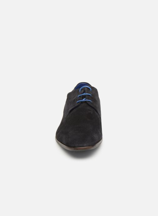Lace-up shoes Azzaro Rivalin Blue model view