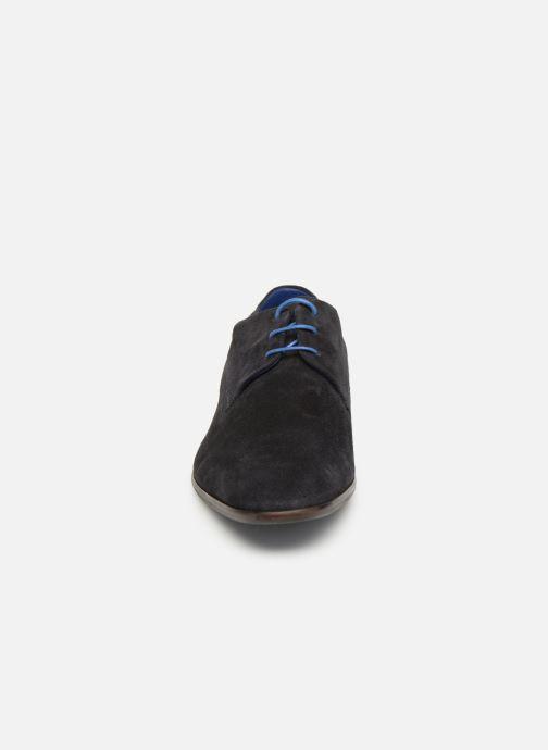 Zapatos con cordones Azzaro Rivalin Azul vista del modelo