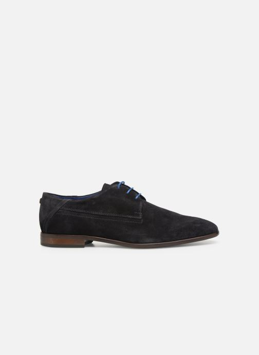 Lace-up shoes Azzaro Rivalin Blue back view