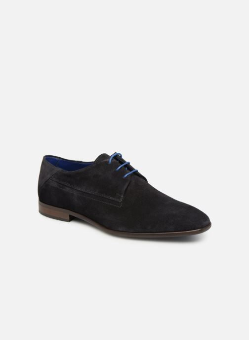 Lace-up shoes Azzaro Rivalin Blue detailed view/ Pair view