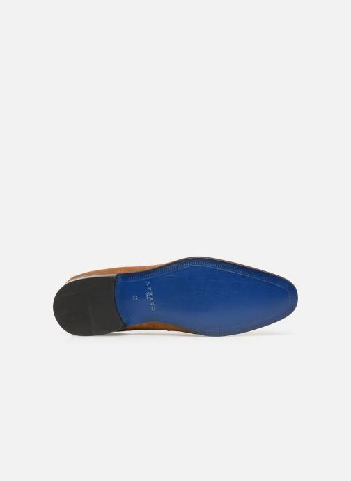 Zapatos con cordones Azzaro Rivalin Marrón vista de arriba