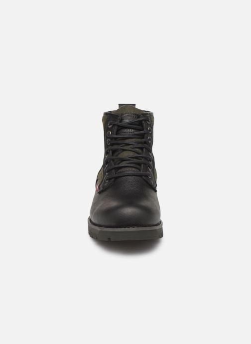 Bottines et boots Levi's Logan Noir vue portées chaussures