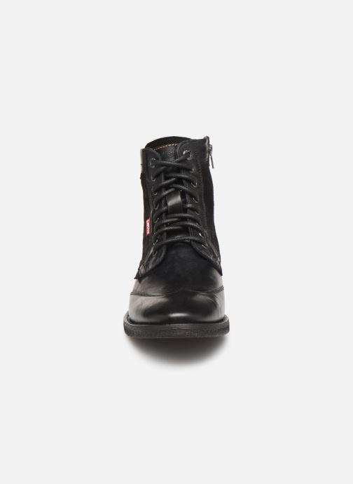 Bottines et boots Levi's Whitfield Noir vue portées chaussures