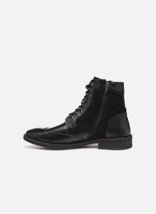 Boots en enkellaarsjes Levi's Whitfield Zwart voorkant