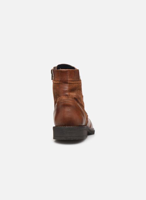 Bottines et boots Levi's Whitfield Marron vue droite