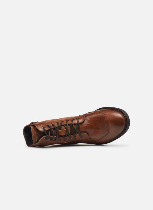 Bottines et boots Levi's Whitfield Marron vue gauche