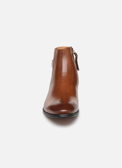 Bottines et boots Aldo Galiradien Marron vue portées chaussures