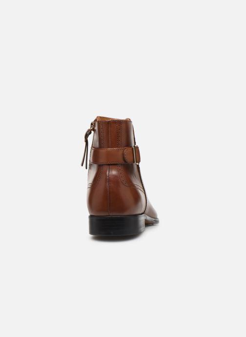 Bottines et boots Aldo Galiradien Marron vue droite