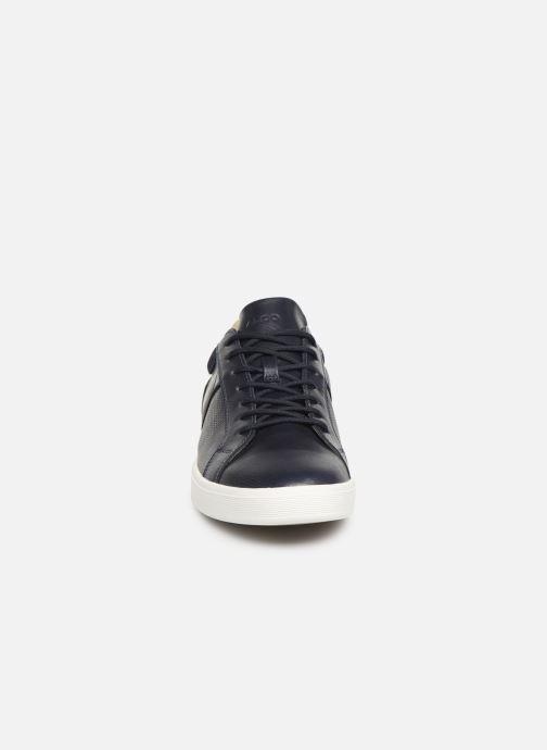 Baskets Aldo Keraria Bleu vue portées chaussures