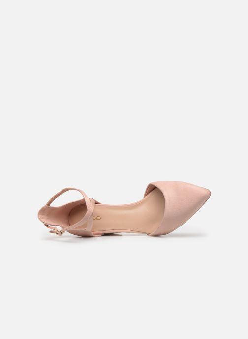 Sandales et nu-pieds Aldo Brookshear Rose vue gauche