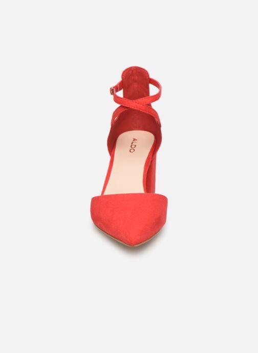 Sandales et nu-pieds Aldo Brookshear Rouge vue portées chaussures