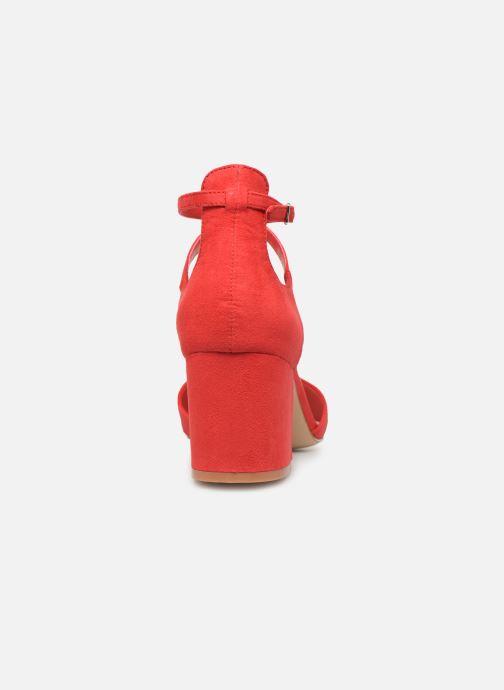 Sandales et nu-pieds Aldo Brookshear Rouge vue droite