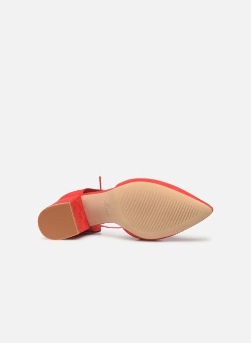 Sandales et nu-pieds Aldo Brookshear Rouge vue haut