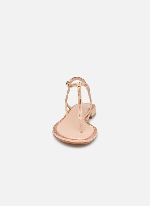 Sandales et nu-pieds Aldo Liliria Beige vue portées chaussures