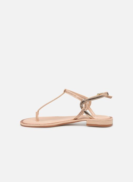 Sandales et nu-pieds Aldo Liliria Beige vue face
