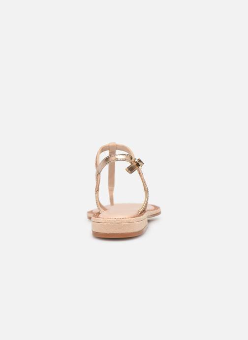 Sandales et nu-pieds Aldo Liliria Beige vue droite
