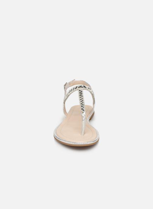 Sandalen Aldo Sheeny silber schuhe getragen