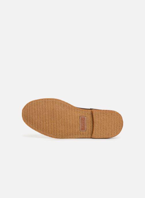 Bottines et boots Polo Ralph Lauren Karlyle Marron vue haut