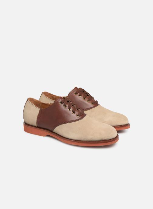 Chaussures à lacets Polo Ralph Lauren Orval Marron vue 3/4