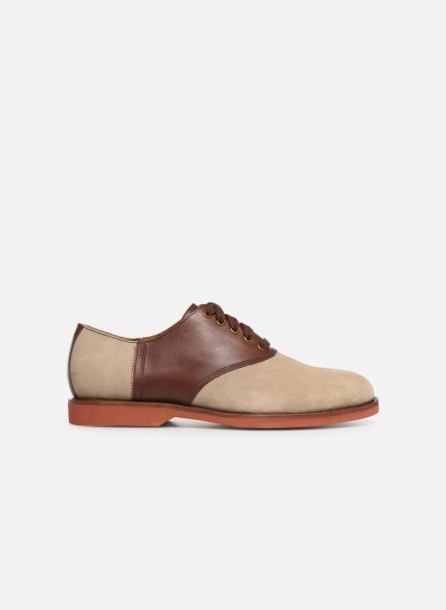 Chaussures à lacets Polo Ralph Lauren Orval Marron vue derrière