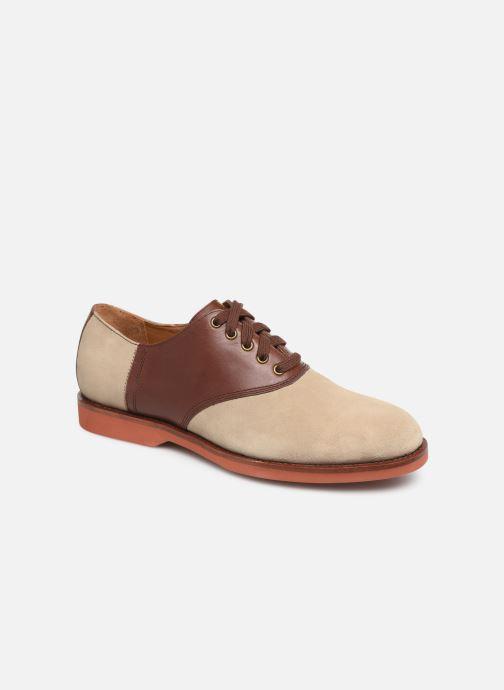 Chaussures à lacets Polo Ralph Lauren Orval Marron vue détail/paire