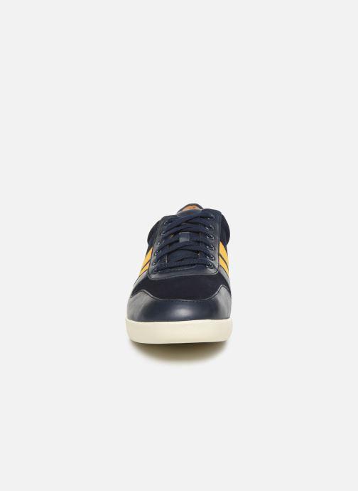 Baskets Polo Ralph Lauren Camilo Bleu vue portées chaussures