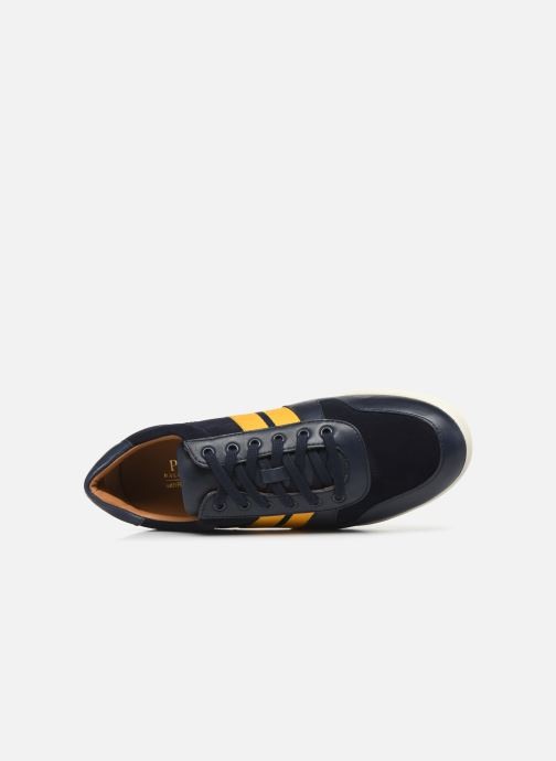 Trainers Polo Ralph Lauren Camilo Blue view from the left