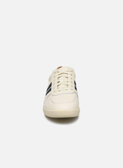 Sneakers Polo Ralph Lauren Camilo Bianco modello indossato