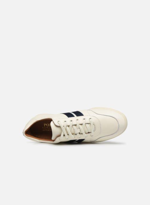 Sneakers Polo Ralph Lauren Camilo Bianco immagine sinistra