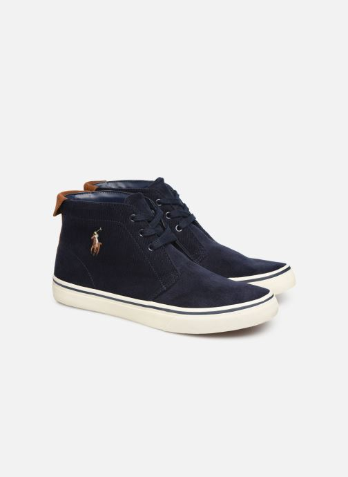 Baskets Polo Ralph Lauren Talin Bleu vue 3/4
