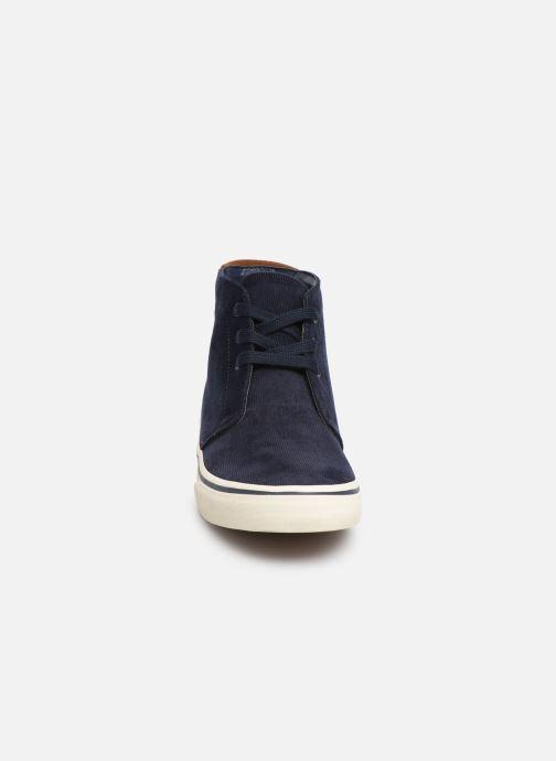 Baskets Polo Ralph Lauren Talin Bleu vue portées chaussures