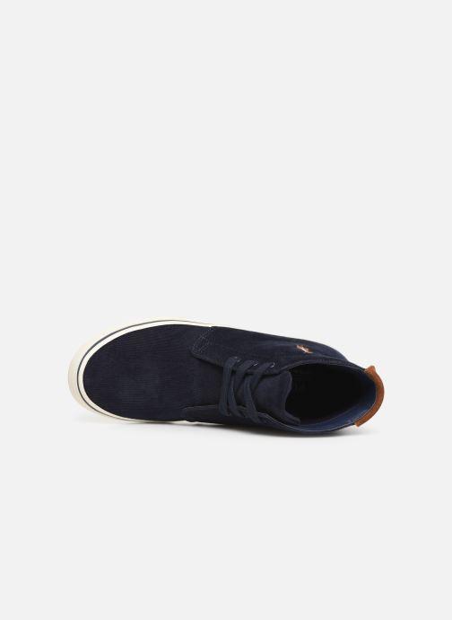 Sneakers Polo Ralph Lauren Talin Azzurro immagine sinistra