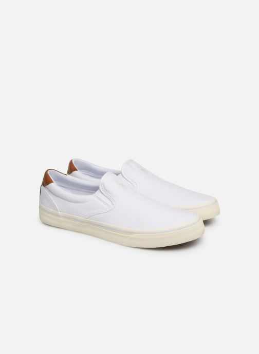 Deportivas Polo Ralph Lauren Thompson Blanco vista 3/4