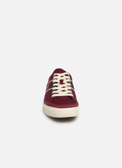 Baskets Polo Ralph Lauren Sherwin Bordeaux vue portées chaussures