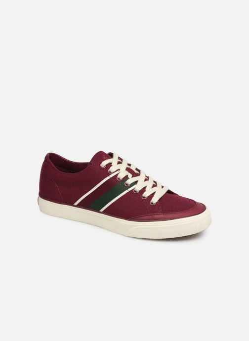 Baskets Polo Ralph Lauren Sherwin Bordeaux vue détail/paire