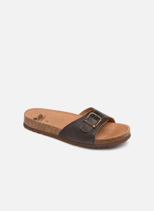 59fc632d4b37cb Scholl Akumal C (Marron) - Sandales et nu-pieds chez Sarenza (373528)