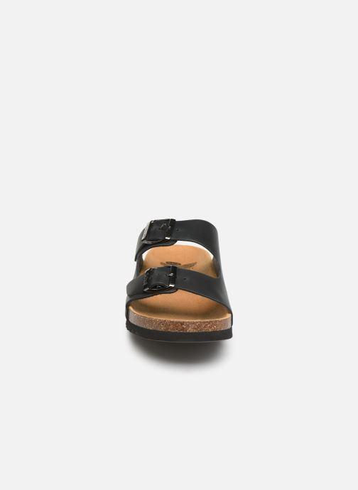 Sandales et nu-pieds Scholl Gerry C Noir vue portées chaussures
