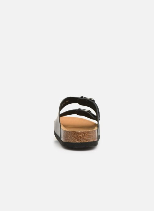 Sandals Scholl Gerry C Black view from the right