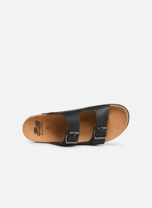 Sandales et nu-pieds Scholl Gerry C Noir vue gauche