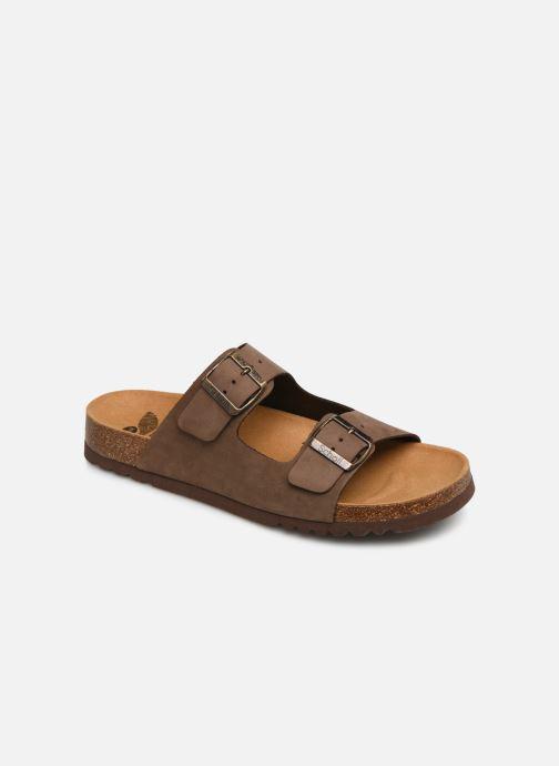 0001e6b915e67e Scholl Gerry C (Marron) - Sandales et nu-pieds chez Sarenza (373531)