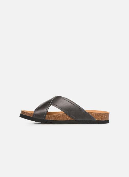 Sandales et nu-pieds Scholl Tangor C Gris vue face