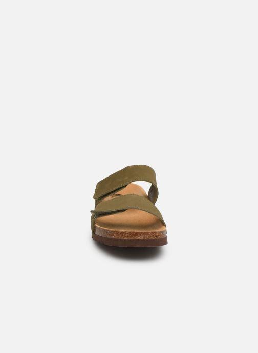 Sandales et nu-pieds Scholl Tymeg C Vert vue portées chaussures