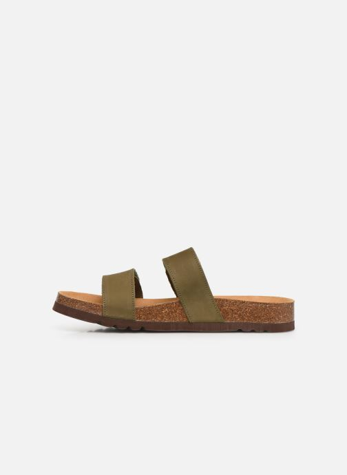 Sandals Scholl Tymeg C Green front view