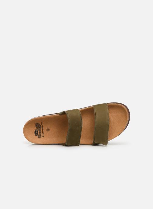 Sandales et nu-pieds Scholl Tymeg C Vert vue gauche