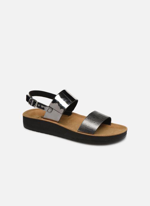 Sandales et nu-pieds Scholl Cynthia con cinturino C Argent vue détail/paire