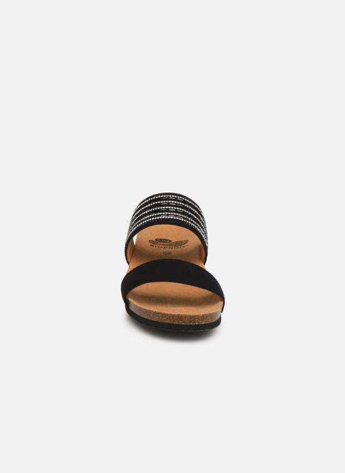 Mules et sabots Scholl Daphne C Noir vue portées chaussures