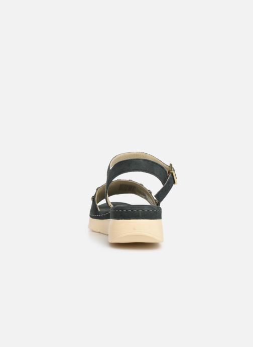 Sandales et nu-pieds Scholl Karissa C Bleu vue droite