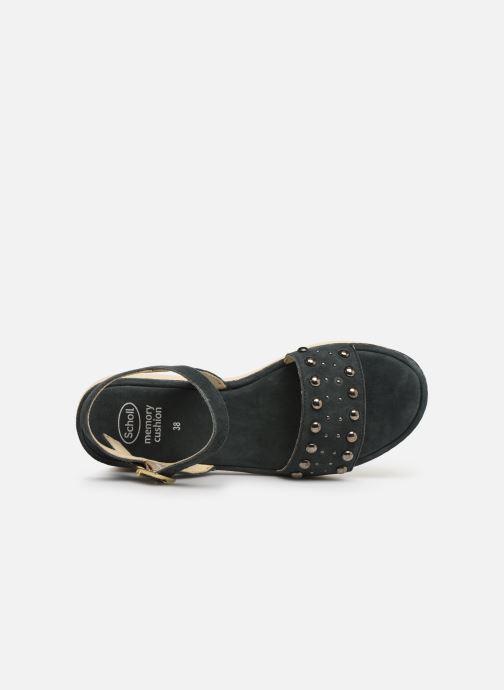 Sandales et nu-pieds Scholl Karissa C Bleu vue gauche