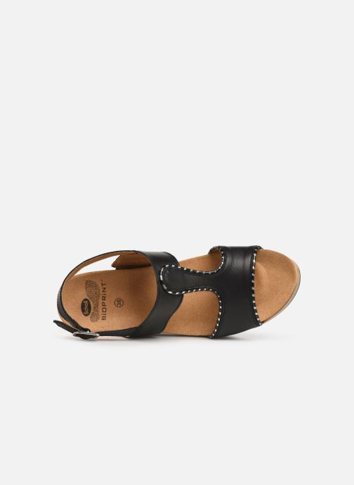 Sandals Scholl Kassidy C Black view from the left