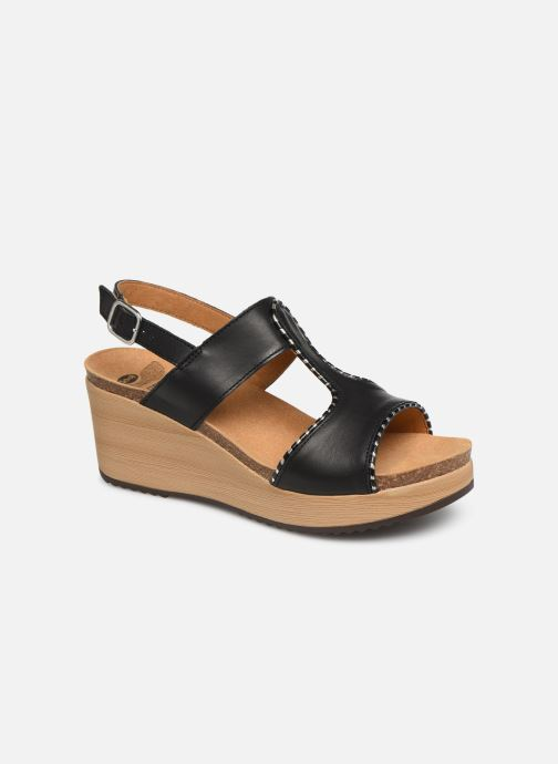 Sandals Scholl Kassidy C Black detailed view/ Pair view